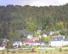 view from Webcam in Bad Schandau, Krippen & Postelwitz on 2018-10-07
