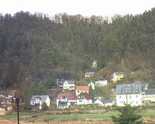 view from Webcam in Bad Schandau, Krippen & Postelwitz on 2018-12-03