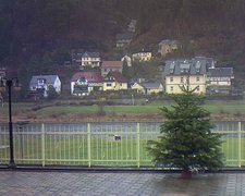 view from Webcam in Bad Schandau, Krippen & Postelwitz on 2018-12-11