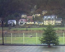 view from Webcam in Bad Schandau, Krippen & Postelwitz on 2018-12-12