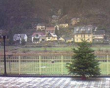 view from Webcam in Bad Schandau, Krippen & Postelwitz on 2018-12-15