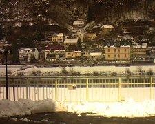 view from Webcam in Bad Schandau, Krippen & Postelwitz on 2019-02-04