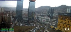 view from Sarajevo on 2019-02-11