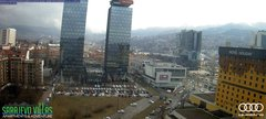 view from Sarajevo on 2019-03-09