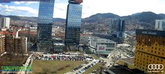 view from Sarajevo on 2019-03-18