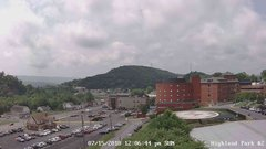 view from Highland Park Hose Co. #2 on 2018-07-15