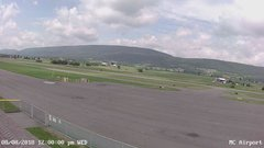 view from Mifflin County Airport (west) on 2018-08-08