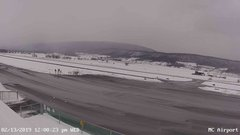 view from Mifflin County Airport (west) on 2019-02-13