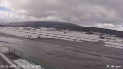 view from Mifflin County Airport (west) on 2019-02-18