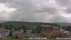 view from Highland Park Hose Co. #1 on 2018-07-23