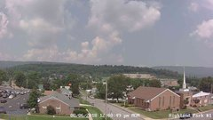 view from Highland Park Hose Co. #1 on 2018-08-06