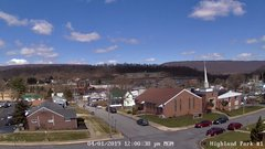 view from Highland Park Hose Co. #1 on 2019-04-01