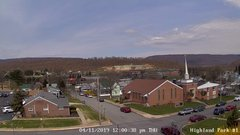 view from Highland Park Hose Co. #1 on 2019-04-11