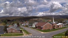 view from Highland Park Hose Co. #1 on 2019-04-20