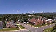 view from Highland Park Hose Co. #1 on 2019-06-03