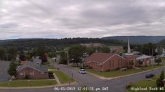 view from Highland Park Hose Co. #1 on 2019-06-15
