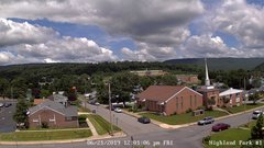 view from Highland Park Hose Co. #1 on 2019-06-21