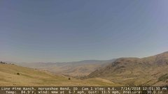 view from Horseshoe Bend, Idaho CAM1 on 2018-07-14