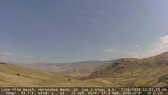 view from Horseshoe Bend, Idaho CAM1 on 2018-07-16