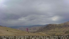 view from Horseshoe Bend, Idaho CAM1 on 2018-09-12