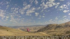 view from Horseshoe Bend, Idaho CAM1 on 2018-09-14