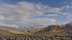 view from Horseshoe Bend, Idaho CAM1 on 2019-01-06