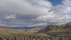 view from Horseshoe Bend, Idaho CAM1 on 2019-01-17