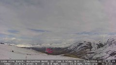 view from Horseshoe Bend, Idaho CAM1 on 2019-02-18