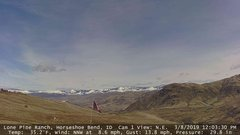 view from Horseshoe Bend, Idaho CAM1 on 2019-03-08