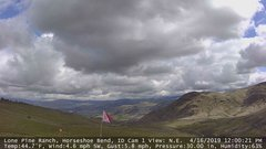 view from Horseshoe Bend, Idaho CAM1 on 2019-04-16