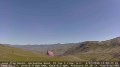 view from Horseshoe Bend, Idaho CAM1 on 2019-04-22