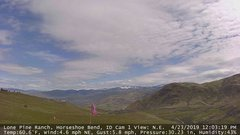 view from Horseshoe Bend, Idaho CAM1 on 2019-04-23
