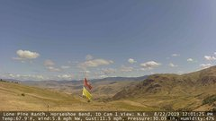view from Horseshoe Bend, Idaho CAM1 on 2019-08-22