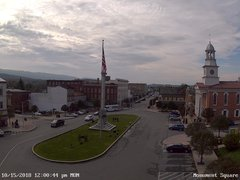view from 13 East Market Street - Lewistown PA (west) on 2018-10-15