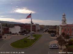 view from 13 East Market Street - Lewistown PA (west) on 2018-10-22