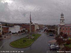 view from 13 East Market Street - Lewistown PA (west) on 2018-11-06