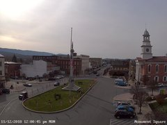 view from 13 East Market Street - Lewistown PA (west) on 2018-11-12