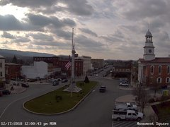 view from 13 East Market Street - Lewistown PA (west) on 2018-12-17