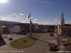 view from 13 East Market Street - Lewistown PA (west) on 2019-01-11