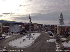 view from 13 East Market Street - Lewistown PA (west) on 2019-01-22