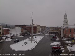 view from 13 East Market Street - Lewistown PA (west) on 2019-01-29