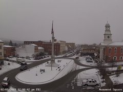 view from 13 East Market Street - Lewistown PA (west) on 2019-02-01