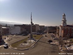 view from 13 East Market Street - Lewistown PA (west) on 2019-02-04