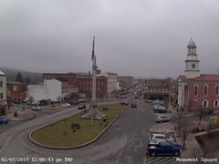 view from 13 East Market Street - Lewistown PA (west) on 2019-02-07