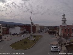 view from 13 East Market Street - Lewistown PA (west) on 2019-02-10