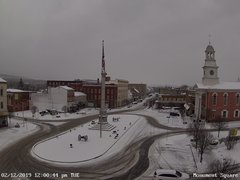 view from 13 East Market Street - Lewistown PA (west) on 2019-02-12
