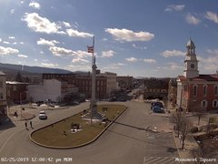 view from 13 East Market Street - Lewistown PA (west) on 2019-02-25
