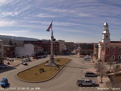 view from 13 East Market Street - Lewistown PA (west) on 2019-03-11
