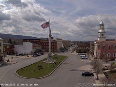 view from 13 East Market Street - Lewistown PA (west) on 2019-04-08