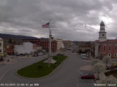 view from 13 East Market Street - Lewistown PA (west) on 2019-04-15